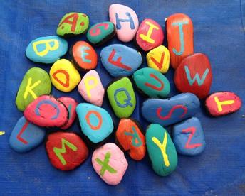 Alphabet Rocks: