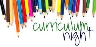Second, Third, Fourth and Fifth Grade Curriculum Night!
