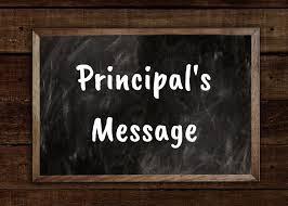 Principal's Message