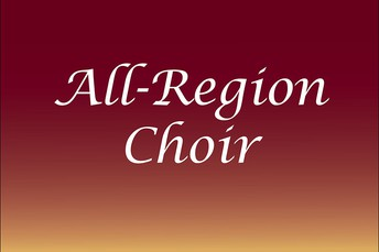 Region Update for those in the Region 9 Mixed, Treble and Honor Choir
