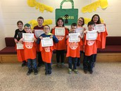 Fairness Award Recipients Grades 3-5