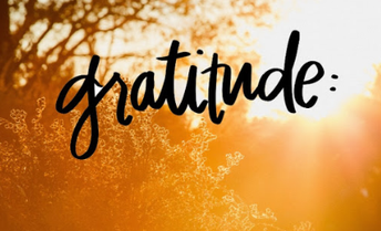 November's Character Trait: Gratitude