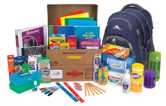 5th Graders going into 6th Grade - Order School Supplies Online