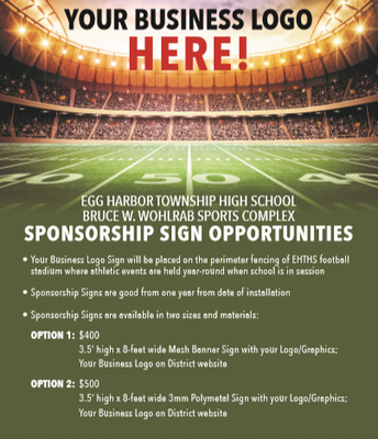 Be A Sign Sponsor!
