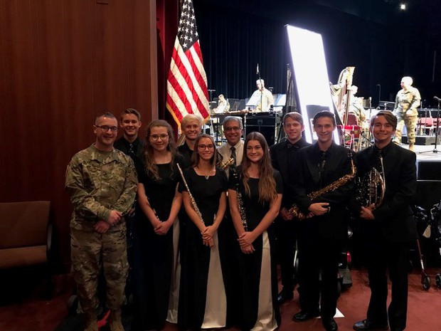 CHS Band Honored