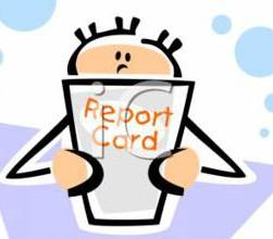 Second quarter report cards