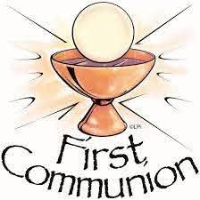 ¡Dios bendiga a los niños que recibieron su Primera Comunión!