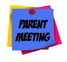 5th Grade - Incoming 6th Grade Parent Meeting