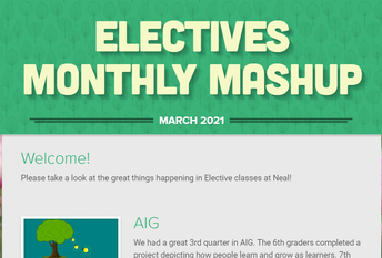 ...and the Electives Newsletter too!