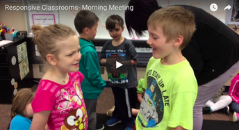Morning meetings...Lower elementary examples