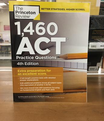 New ACT Prep books!