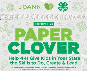 Paper Clover Fundraiser