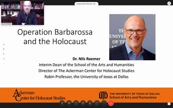 Operation Barbarossa Anniversary Lecture