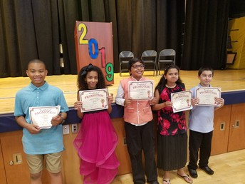 Congratulations to our Fifth Graders!