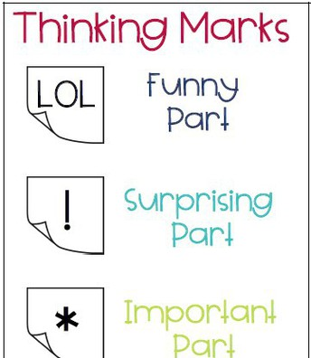 Thinking Marks (text tagging)