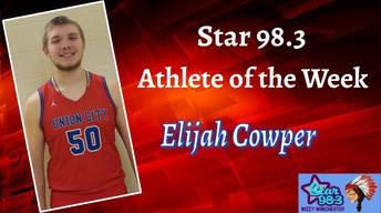 Elijah Cowper Named Athlete Of The Week (Week of 2/24/20)