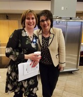 Debbie Pline, LPTSA 2nd VP & Andrea Oquist, Superintendent