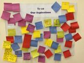 Aspirations wall