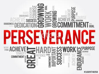 Rasgo de carácter del mes de marzo: Perseverancia.