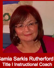 October 23rd Samia Sarkis Rutherford