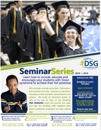 Down Syndrome Guild Seminar Series