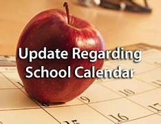 Updated 2018-19 School Year Calendar