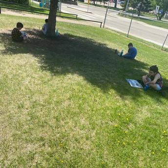 3/4P Outside Reading