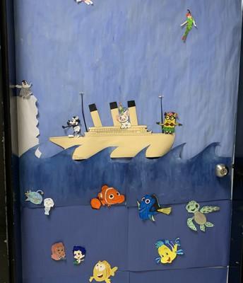 Intermediate Door Decorating - Ms. Sheriff