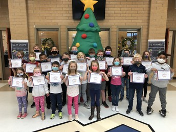 Students of the Month for November