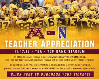 Teacher Appreciation ticket opportunity