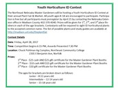 Youth Horticulture ID Contest