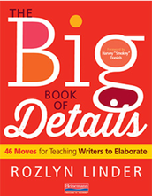 Book Review:  The Big Book Of Details: 46 Moves for Teaching Writers To Elaborate by Rozlyn Linder