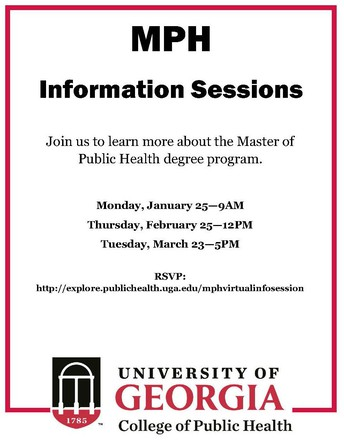 Master of Public Health Info Sessions