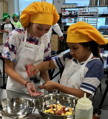 Chris Polk has students cooking up 'amazing' fare
