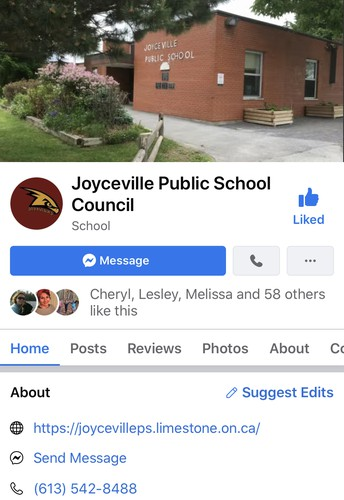 JPS School Council on Facebook!