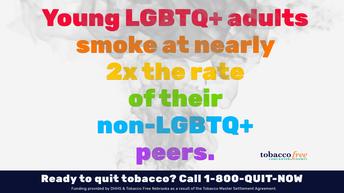Young LGBTQ+ Smoking Disparity