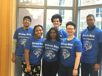 CHS Students Excel at Brain Bee at UPenn