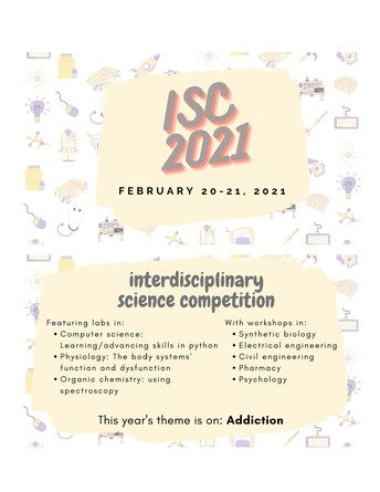 Interdisciplinary Science Competition February 20-21