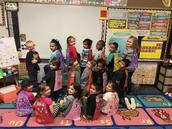 Kindergarten celebrated being Super Readers!!!