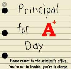 PRINCIPAL FOR A DAY | DIRECTOR POR UN DIA (01/31)