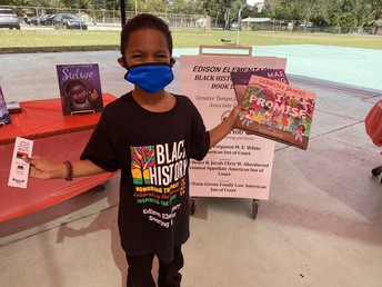In celebration of Black History Month, more than 700 books were collected for students at Edison Elementary School in Tampa. Thank you to Jack and Jill of America, Greater Tampa Associate Group, local attorney Jon Philipson and numerous affiliated groups for collecting and donating the books! Each student at Edison was gifted two books to take home!