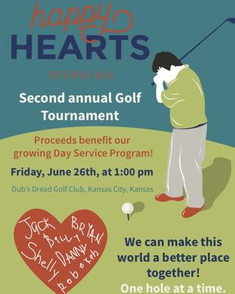 Happy Hearts Working Golf Tournament
