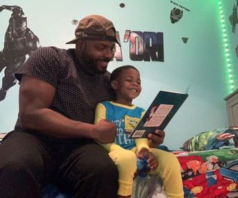 Reading to my son: 5 ways I get ready as a dyslexic dad