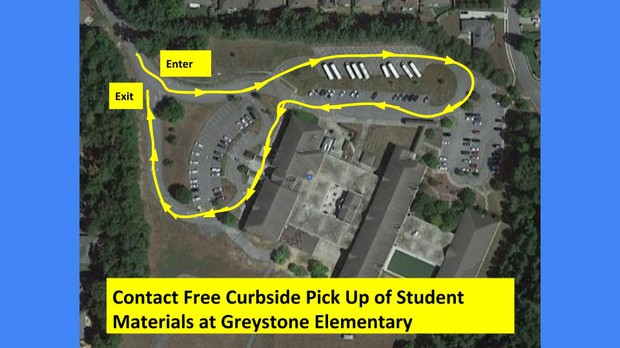 curbside pick up route