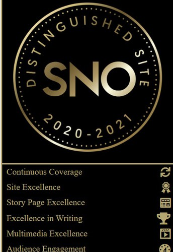 Congratulations to THE STAMPEDE on being recognized as a 2021 SNO Distinguished Site