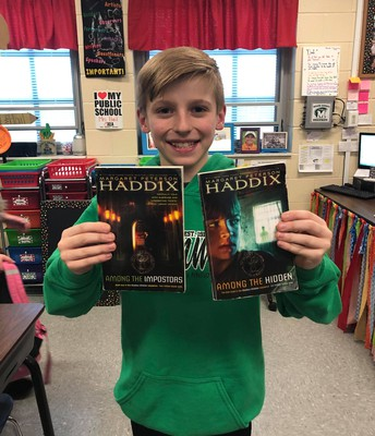 Shadow Children Series by Margaret Peterson Haddix