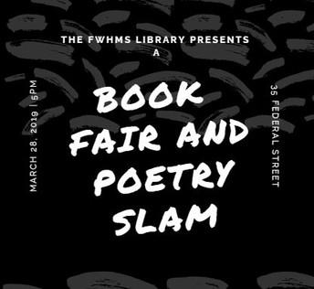 Scholastic Book Fair and Poetry Slam Night