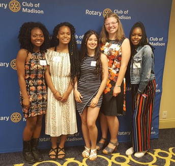 2019 Rotary Club of Madison Youth Awards