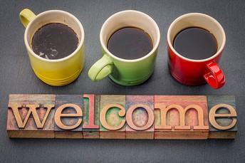 Welcome Coffee, 8/14