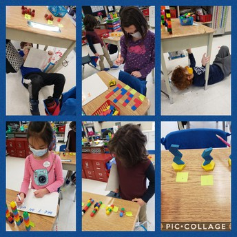Lots of ways to show our learning in patterns